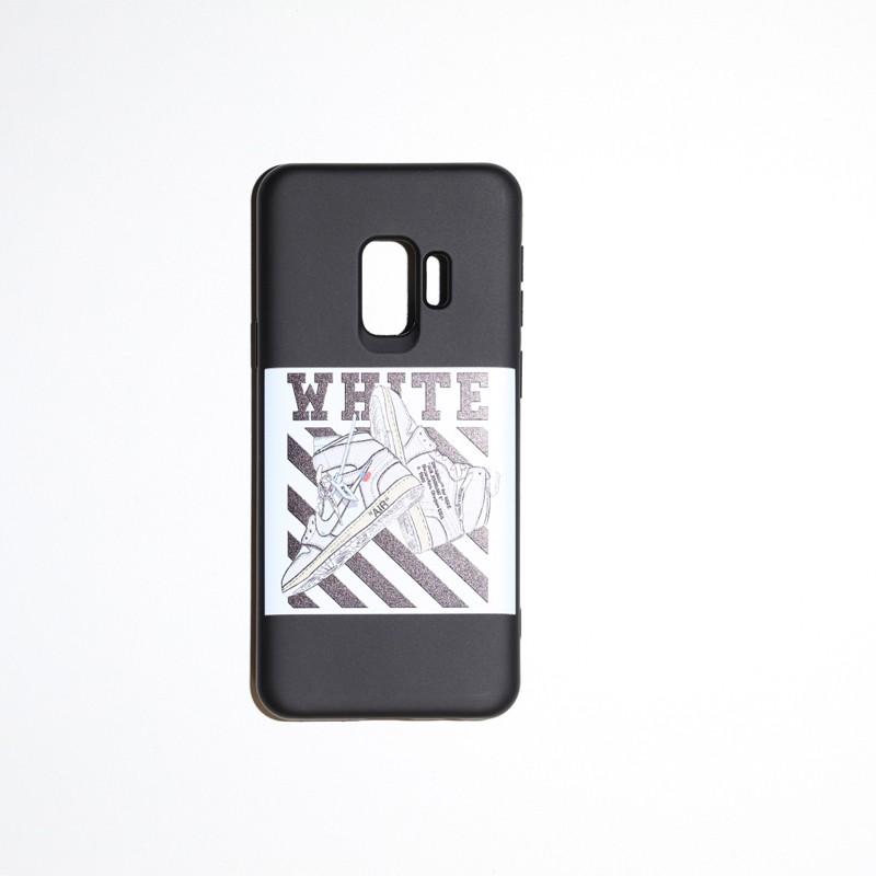 coque arrière S9 white nike