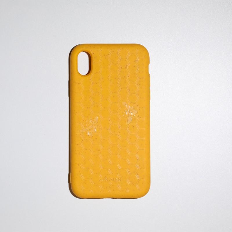 Coque bio 100 % fibre de blé iPhone XS Abeille