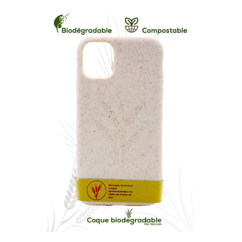 Coque iPhone 11 pro biodégradable